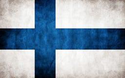 vektor för stil för tillgänglig finland flagga glass Royaltyfri Foto