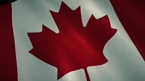 vektor för stil för tillgänglig Kanada flagga glass royaltyfri illustrationer