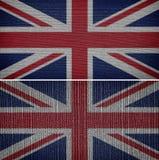 vektor för stil för tillgänglig england flagga glass Fotografering för Bildbyråer