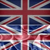 vektor för stil för tillgänglig england flagga glass Arkivfoton