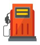 Vektor för symbol för station för gasolja vektor illustrationer