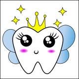Vektor för tandfe vektor illustrationer