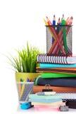 vektor för tillförsel för illustrationkontorsskola Royaltyfri Foto