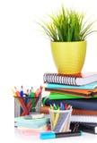 vektor för tillförsel för illustrationkontorsskola Arkivbilder