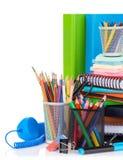 vektor för tillförsel för illustrationkontorsskola Fotografering för Bildbyråer