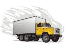 vektor för tung lastbil Arkivfoton