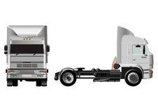 vektor för tung lastbil Arkivbild