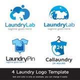 Vektor för tvätterimalldesign Arkivfoton