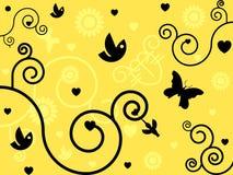 vektor för valentin för 2 dag illustrationsan plats Royaltyfria Bilder