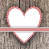 vektor för valentin för form för modell s för hjärta för gåva för ram för kortdagdesign seamless Arkivfoton