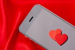 vektor för valentin för pardagillustration älska Arkivbild