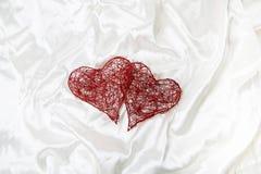 vektor för valentin för pardagillustration älska Arkivfoto