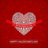 vektor för valentiner för bakgrundsdaghjärta Planlägg för kort för hälsning för dag för valentin` s Royaltyfria Foton