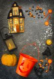 vektor för vampyr för sorceress för grym halloween illustrationreaper set Royaltyfri Fotografi