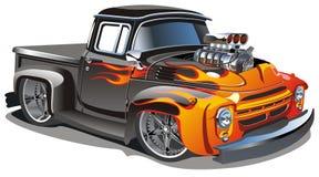vektor för varm stång för tecknad film Royaltyfria Bilder