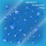 Vektor för vattenbakgrundsdesign Arkivfoton