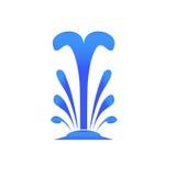 Vektor för vattenspringbrunn Royaltyfri Illustrationer