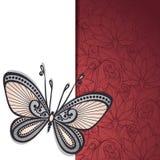 Vektor farbiger Blumenhintergrund Stockbilder