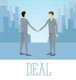 Vektor-flaches Geschäfts-Konzept Stockbild