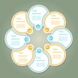Vektor-Fortschritt Hintergrund/Produktauswahl oder Ver Lizenzfreies Stockfoto
