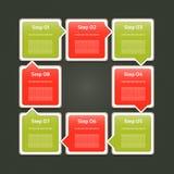 Vektor-Fortschritts-Hintergrund Lizenzfreies Stockfoto