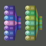 Vektor-Fortschritts-Hintergrund Stockfotografie