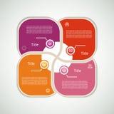 Vektor-Fortschritts-Hintergrund Stockbilder