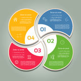 Vektor-Fortschritts-Hintergrund Lizenzfreie Stockbilder