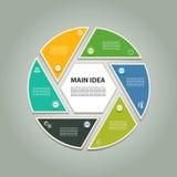 Vektor-Fortschritts-Hintergrund Stockfoto