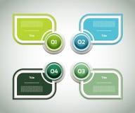 Vektor-Fortschritts-Hintergrund/Produktauswahl oder Version Lizenzfreie Stockfotos