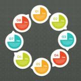 Vektor-Fortschritts-Hintergrund/Produktauswahl oder Version Stockfotos