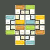Vektor-Fortschritts-Hintergrund/Produktauswahl oder Version Lizenzfreies Stockfoto