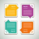 Vektor-Fortschritts-Hintergrund. Produktauswahl oder Version Lizenzfreie Stockfotos