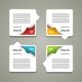 Vektor-Fortschritts-Hintergrund. Produktauswahl oder Version Stockbilder