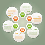 Vektor-Fortschritts-Hintergrund/Produktauswahl oder Version Stockfotografie