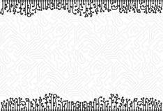 vektor för bakgrundsbrädeströmkrets eps8 Royaltyfria Bilder
