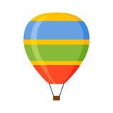 Vektor för Ballonaerostattransport Royaltyfri Bild