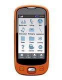 vektor för telefon för cellgps-pda Arkivfoton
