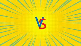 Vektor gegen Illustration Lizenzfreie Stockfotos
