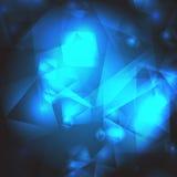 Vektor-geometrischer abstrakter Hintergrund Lizenzfreie Stockbilder