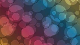 Vektor-geometrischer abstrakter Hintergrund Bokeh-Art Lizenzfreies Stockbild