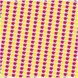 Vektor-geometrischer Popcorn-Hintergrund lizenzfreie abbildung