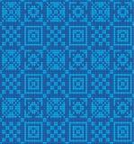 Vektor gestricktes geometrisches Muster Stockfoto
