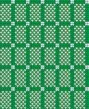 Vektor gestricktes geometrisches Muster Stockfotografie