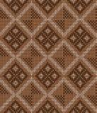 Vektor gestricktes geometrisches Muster Lizenzfreie Stockfotografie