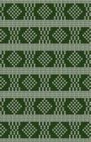 Vektor gestricktes geometrisches Muster Stockbilder