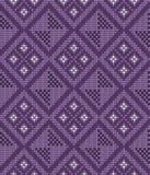 Vektor gestricktes geometrisches Muster Stockfotos