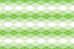 Vektor grünes Argyle Stockfotografie