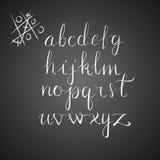 Vektor-Hand gezeichnetes Alphabet Stockbild