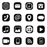 Vektor-Ikonen-Bild auf weißem Hintergrund stockbild